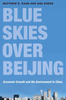 Blue skies over beijing